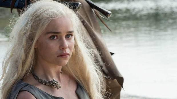 Queen of dragons,  Daenerys Targaryen (Emilia Clarke).