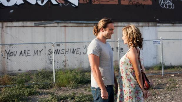 Dustin Clare and Camille Keenan play a couple pondering their relationship in the ruins of Sydenham in 2012, in the film ...