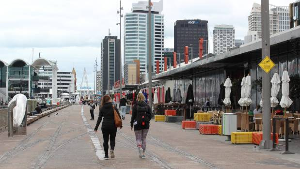 Pedestrian precincts, such as North Wharf at Wynyard Quarter in Auckland, are a priority for city planners.
