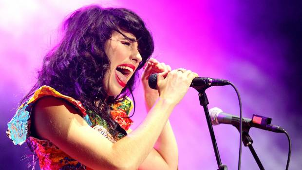 Kimbra's performance will mark a welcome return to the festival stage, after headlining the Gisborne music festival in 2012.