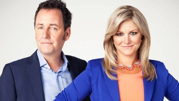 Mike Hosking is 19 years older than Seven Sharp co-host Toni Street.