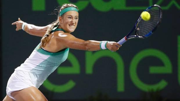 tennis star victoria azarenka pregnant  plans to resume