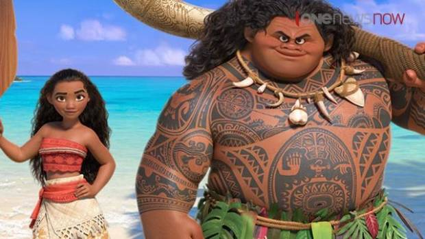 The size of Maui in Disney's new movie 'Moana' hasn't impressed one Labour MP.