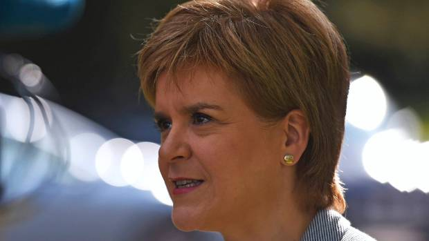 """Scotland's First Minister Nicola Sturgeon said a second referendum on Scottish independence was """"highly likely""""."""