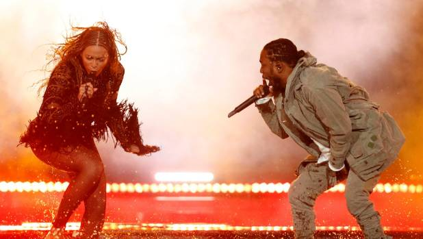 Kendrick Lamar and Beyonce have shared the stage once before.