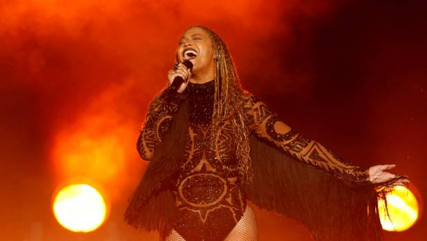Beyonce performs Freedom at the 2016 BET Awards in Los Angeles.