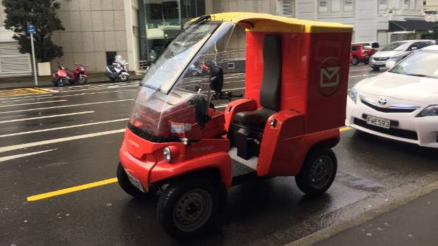 NZ Post's Paxter electric vehicle.