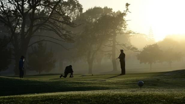 Maria Hyun's image, 'Early Morning on the Waitemata Golf Course', won second prize.
