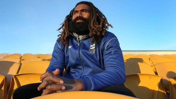 Fijian rugby player Peni Manumanuniliwa.