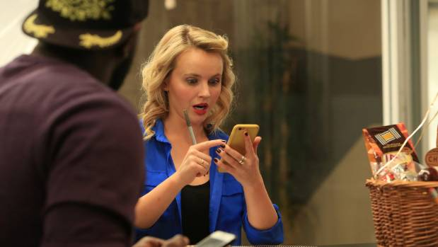 In Hashtaggers, Kimberley Crossman plays the bossy Nicky, one of four employees at a social media agency that aims to ...