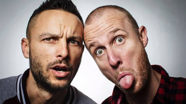 13062016 News Photo:Lawrence Smith/Fairfax NZ Television hosts Jono & Ben photographed for Sunday Magazine.