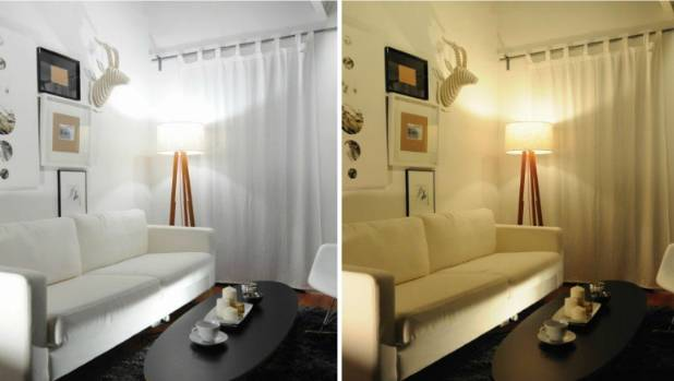 Change your lighting from cool daylight to warm white at the touch of a button on a remote - this house features Jedi ...
