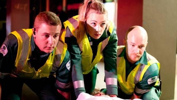 Wellington Free Ambulance Paramedics at work