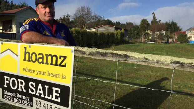 """Kaitangata District Promotions member Evan Dick says the response to the land package deals has been """"out of control"""" ..."""