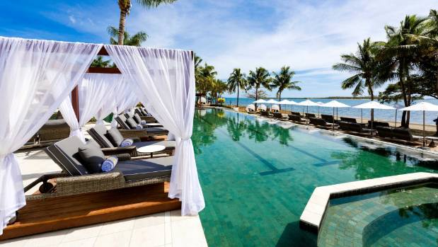 The newly-opened Waitui Beach Club at the Sofitel Fiji Resort and Spa Hotel is the perfect place to spend the hours ...