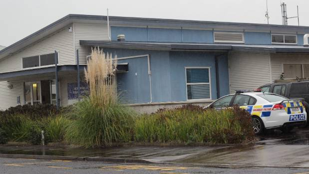 The officer was a young constable at the Morrinsville Police Station.