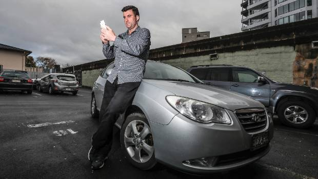 Conflicted feelings: Uber driver Ben Wilson is setting up a national drivers' association.
