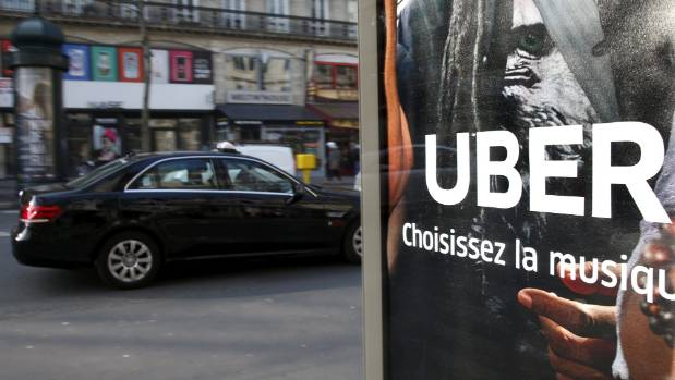 "Uber in Paris: The app began as a ""black car"" limousine service."