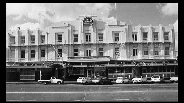 The Majestic Hotel As It Looked In 1980 Stood On This Site Fitzherbert
