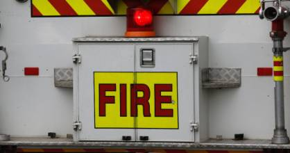 Fire crews were called to a large house fire in Pukekohe on Wednesday night.