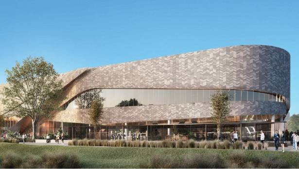 The new design of Christchurch's convention centre.