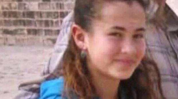 Hillel Yaffe Ariel, 13, was stabbed to death in her bed in the Israeli settlement of Kiryat Arba.