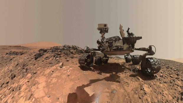 Nasa's Curiosity Rover is on Mars, but there are definitely no children there.