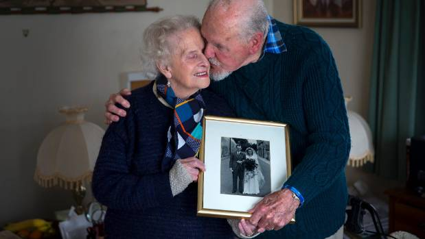 Feilding couple Cyril and Beryl Norris have just celebrated their 74th wedding anniversary.