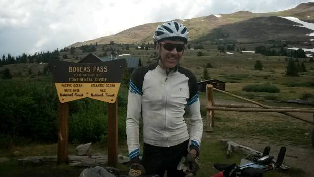 Brian Alder pushed through wild and unpredictable terrain in the Tour Divide, a race that sees mountain bikers rough the ...
