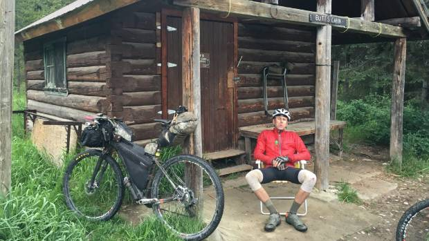 It was Golden Bay man Brian Alder's first time riding the notoriously tough Tour divide, where he finished 5th overall ...