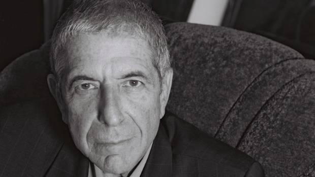Leonard Cohen, still rocking at 82.