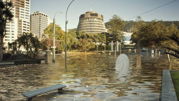 Victoria University recently released this underwater image showing Wellington at 2C warmer than pre-industrial levels. ...