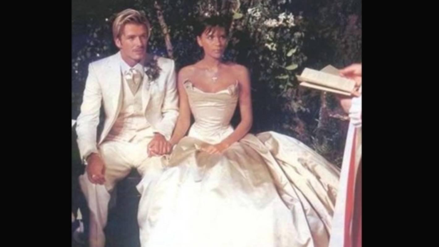 Victoria And David Beckham Mark Their 17th Wedding