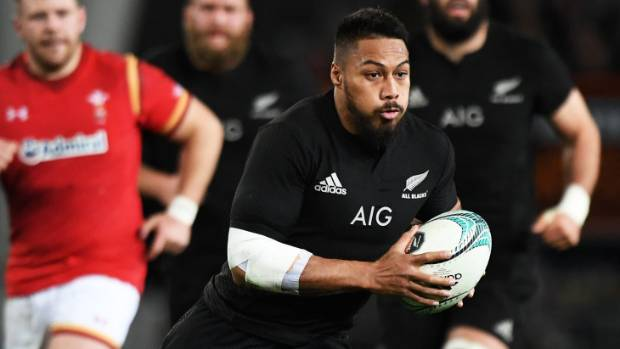 A knee injury will sideline All Blacks centre George Moala for several weeks.