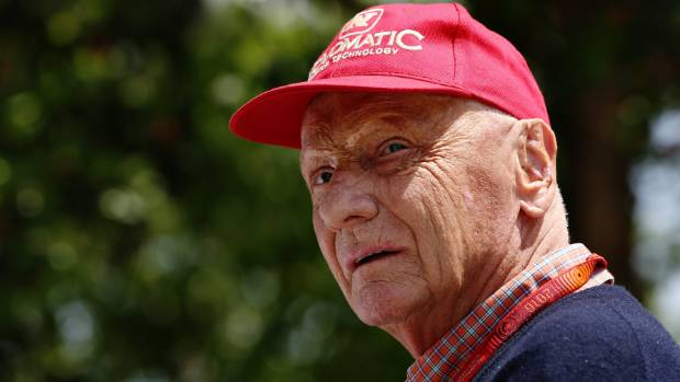 Niki Lauda was given just days to live before life-saving lung transplant