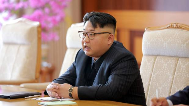 North Korea's leader Kim Jong Un pictured in Pyongyang.