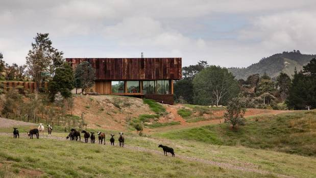 The Herbsts earlier won the Home of the Year award in 2016 with 'K Valley House', which is clad in a rusted corrugated ...