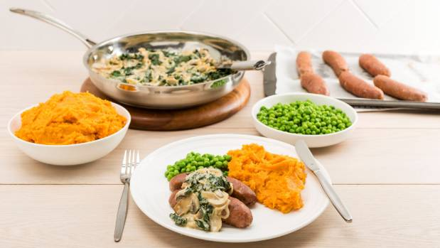 Does cheap n choice new meal delivery service live up to the hype bangers n kumara mash one of the offerings from new meal delivery service forumfinder Choice Image