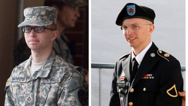 Manning, who is transgender, was imprisoned for handing over classified files to WikiLeaks.