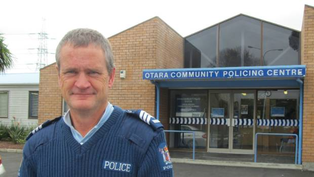 Sergeant Paul Devane is providing advice for ways of preventing handbags and personal possessions being snatched by ...