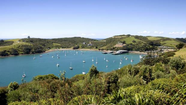 Waiheke Island was voted number four on the annual list.