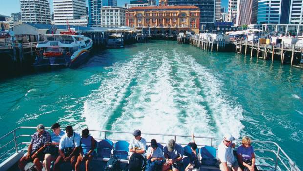 A ferry ride from downtown Auckland can take you to Waiheke Island.
