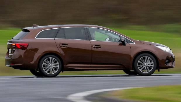 Wagons Roll... Just Not Out The Showroom Door. Avensis Makes Camry Look