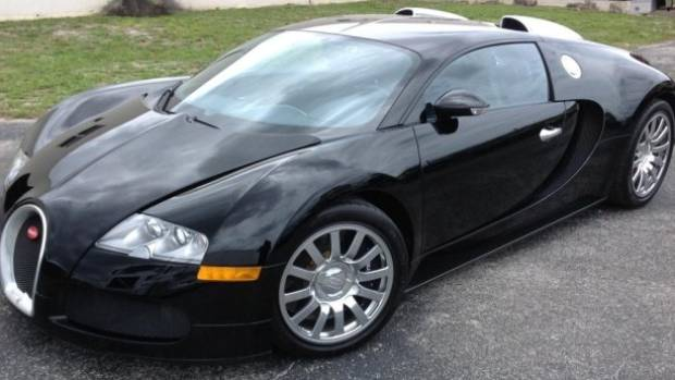 This Bugatti Veyron, Previously Owned By A US Drug Kingpin, Fetched US$1.22  Million