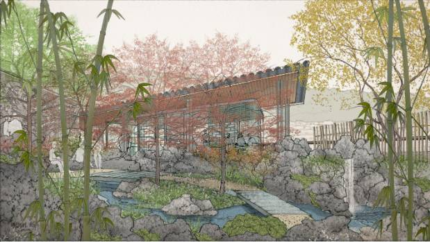 Stoush brewing over wellington 39 s plans for a chinese for Garden design wellington