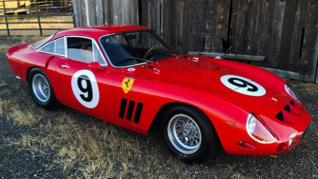 This 1963 Ferrari 330 LMB Is One Of Only Four Ever Built.
