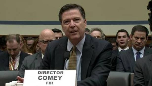 FBI chief James Comey was summoned before Republican lawmakers to defend his recommendation not to file charges against ...