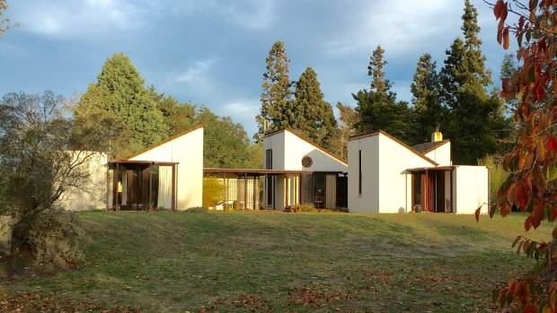 The Martin house in Hawke's Bay, designed by the late architect John Scott, features in the first episode of The New ...