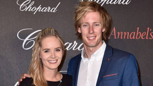 She Said Yes Kiwi Motorsport Driver Brendon Hartley Gets Engaged Stuff Co Nz