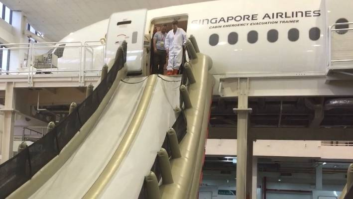 Inside the Singapore Airlines Training Centre: How to be a Singapore